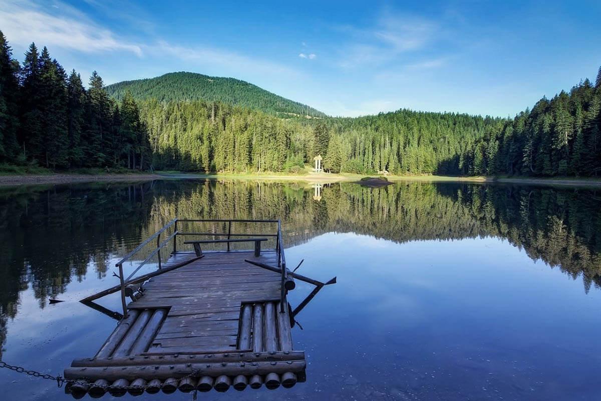 Озеро Синевир   7 чудес України