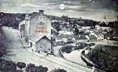 Ужгород 1899 року