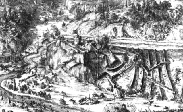 Теребовлянський замок в час турецької облоги wikipedia.org