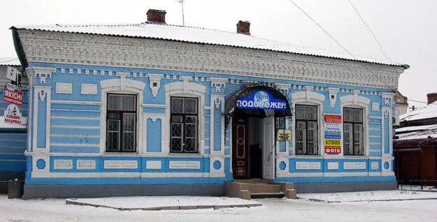 Житловий будинок ХІХ століття. Подібні були типовими серед єврейської забудови. Фото Максима Мельникова, ukrainaincognita.com