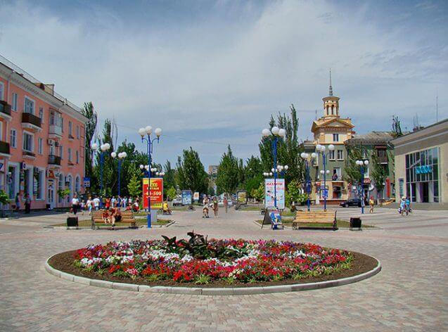 Центр міста. Фото з zahidkurort.com