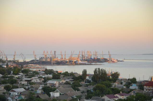 Вид на Бердянський порт. Фото з wikipedia.org