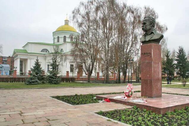 Памятник Т.Г. Шевченку, фото з bc-rada.gov.ua