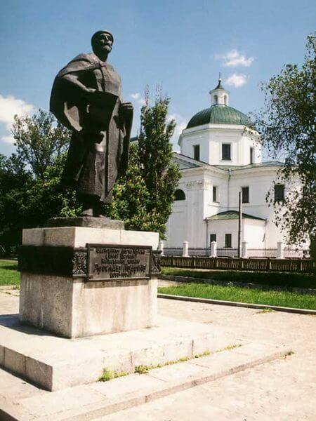 Пам'ятник Ярославу Мудрому. Фото bc-rada.gov.ua